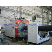 PLC Control Plastic Production Line , HDPE Pipe Extruding M