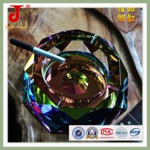 Cinzeiro de vidro de cristal preto (JD-CA-204)