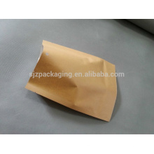Flat Brown Paper Packaging Bag for melon seeds in China