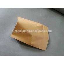 Плоский коричневый бумажный мешок для семян дыни в Китае