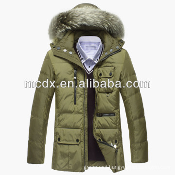 Custome man winter padded jacket with high quality