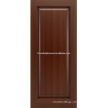 Madeira de carvalho um painel, projeto de porta de painel de madeira sólida