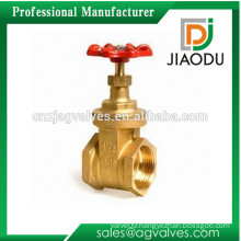 Easy installation customized pn16 2 3 4 5 6 8 inch 200g water copper brass gate valve 3 inch