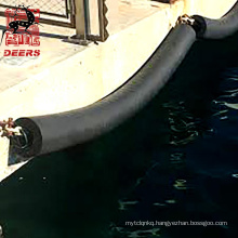 Customized size hollow cylindrical marine rubber fenders for port