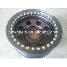black color 4x4 wheel rim