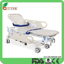 Alu-Krankenhaustransport Stretcher-Trolley