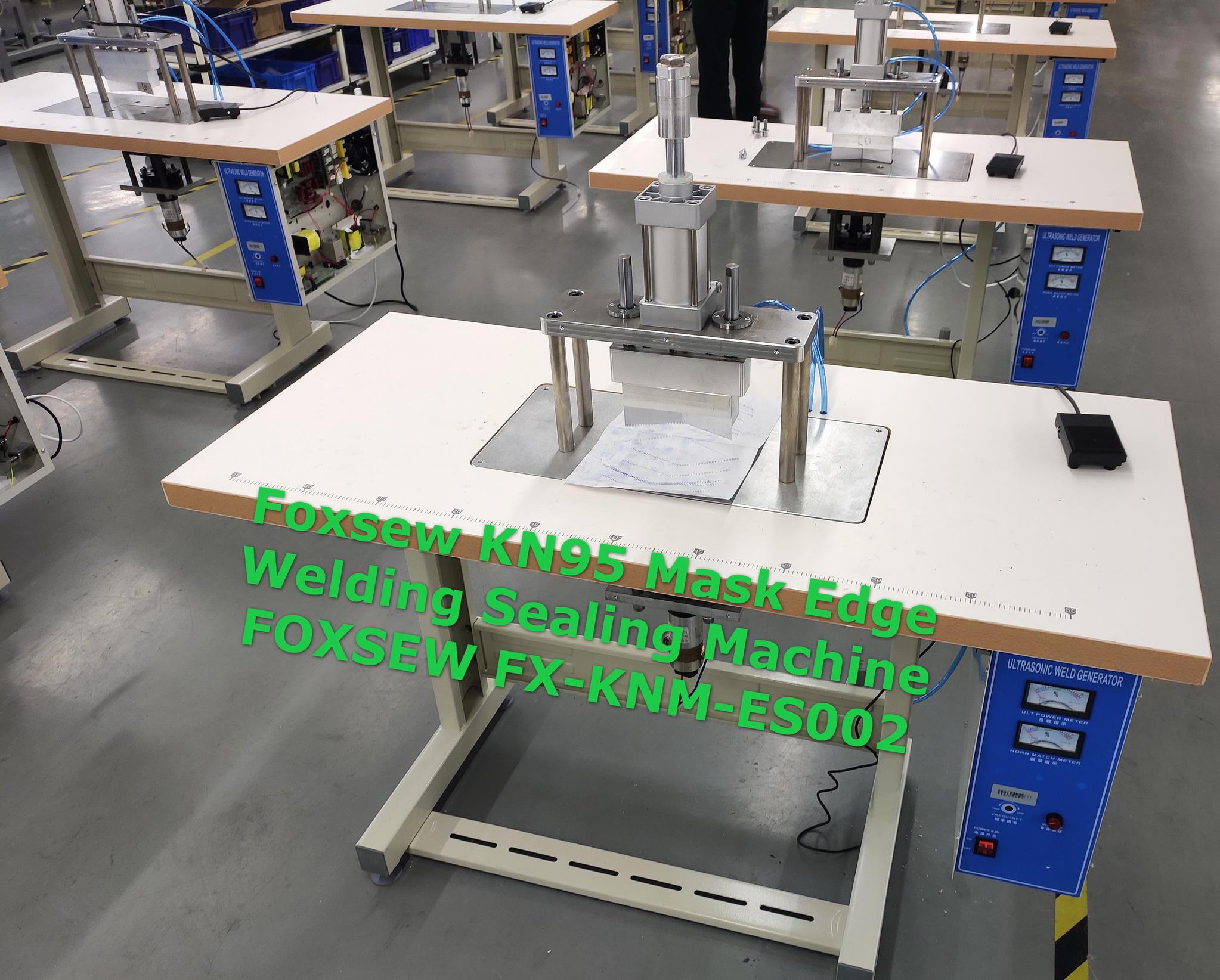 Ultrasonic KN95 Mask Edge Welding Sealing Machine FOXSEW FX-KNM-ES002 -3