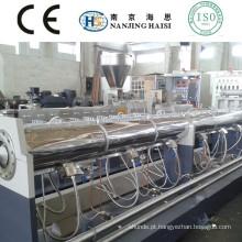 Extrusora de único parafuso SJ de HS pelotização reciclagem máquina POM/PET/ABS/PC