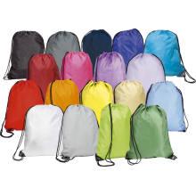 Ecofriendly-Envirement and Durable Nylon Drawstring Bag