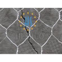 Cesta hexagonal doble torcida de Gabion con precio bajo y la mejor calidad