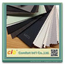 Vente en gros de PVC Polyester Blackout Sun Screen Fabric Rollers Blind