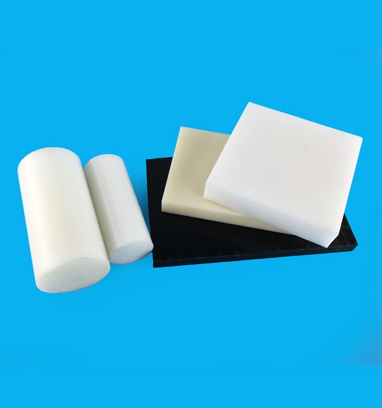 plastic White and black POM sheets
