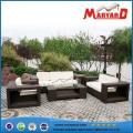 Sofa en osier de meubles de jardin de haute qualité