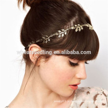 CBRL turista lembranças belo folhas fio elástico headband