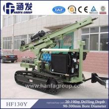 Hf130y Photovoltaic Solar Spiral Pile Rig, DTH Blasting Hole Drilling Rig Manufacturer