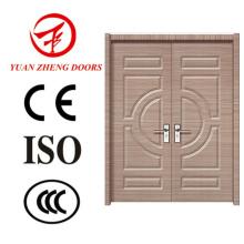 Puerta del dormitorio de madera Puerta del baño de PVC Puerta del baño de PVC Precio