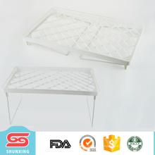 Estante para platos de plástico más útil para el organizador de secado del titular de la cocina