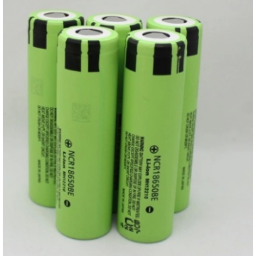 Mini-zaklampbatterij Panasonic BE 3100mAh (18650PPH)