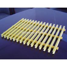 Le grillage de fibre de verre de râpage de FRP renforcent le râpage