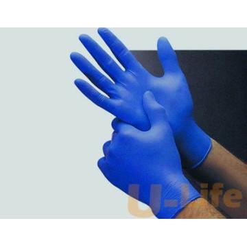 Одноразовая медицинская нитриловая перчатка