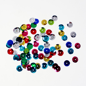 Assorted Colours Cup Shaped Loose Sequins