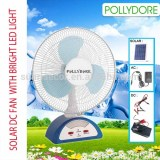 Solar DC Table Fan equiped solar panel,Size As 12''