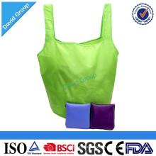 Fournisseur chinois de nouveaux produits Noël chapeau pliable Polyester Shopping Bag