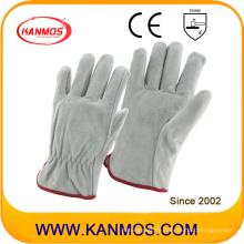 Kuh Split Personal Industrial Safety Fahrer Leder Arbeit Hand Handschuhe (11204)