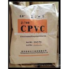 CPVE resina para tubería y accesorio grado
