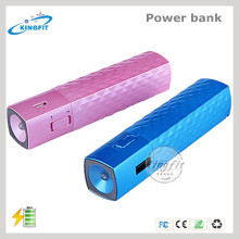 Portable Power Bank with LED Torch Light