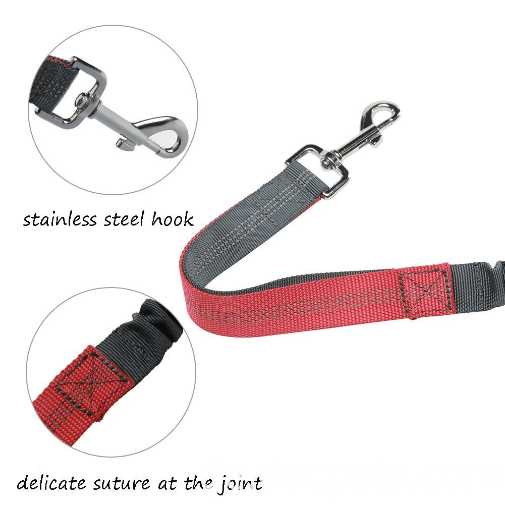 Hands Free Retractable Bungee Dog leash