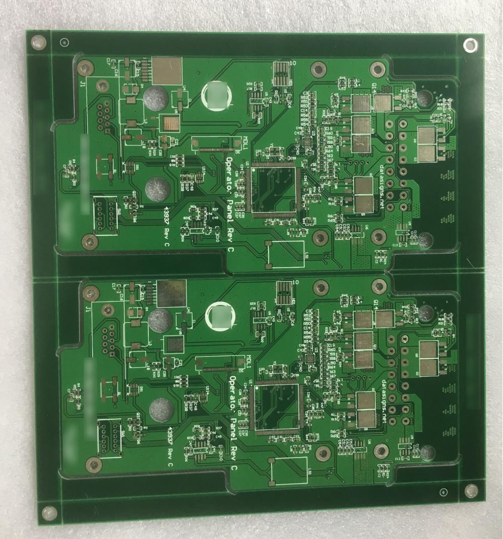 4 layer 1.6mm  Green Solder ENIG PCB