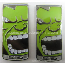 Металлические промо-сувенир для значок pin отворотом (бейдж-215)