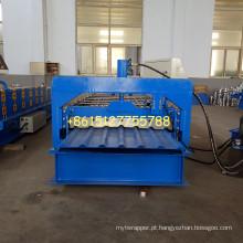 Perfil da caixa do metal 34/1000 folhas de máquina de rolamento