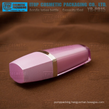 YB-PD15 15ml interesting color customizable double layers high class acrylic pink bottle
