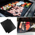 OEM Available Black 0.20mm BBQ Grill Mat With Custom Size