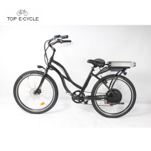 Chinese golden manufacturing factory cheap electric beach cruiser bike