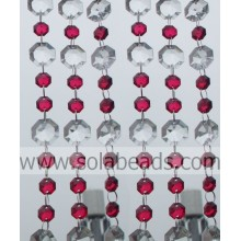 Reasonable 14MM&20MM Plastic Crystal Beading Chain Curtain