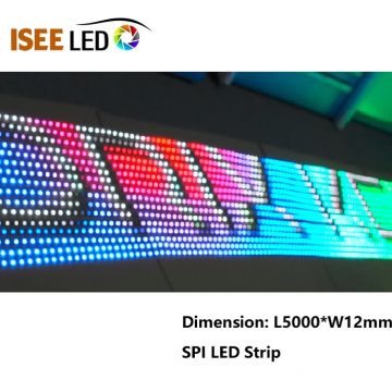 144Pixels par mètre Pixel Led Strip Lamp