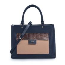 Newest Design Real Leather Female Shoulder Tote Handbag