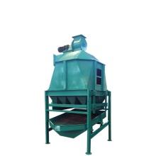 Counter Flow Cooler For Straw Spruce Alfalfa Pellet