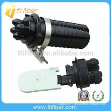Boîtier d'épissure à fibre optique mécanique à 48 carottes mécanique