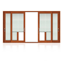 Feelingtop Swing Alumunium Wood Shutter Window (FT-aluminum wood window)