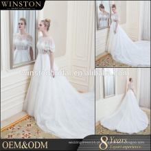 Professional China fábrica branco vestido de casamento venda online