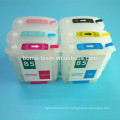 For hp 11 82 84 inkjet cartridge for hp designjet 10 20 50 120 refill ink cartridge with ARC chip