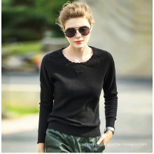 Women′s Cashmere Sweater with Round Neck (13brdw135-2)