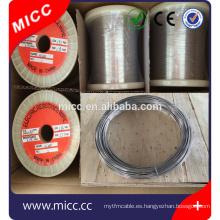 MICC Nickel Chrome Resistencia de aleación Cable de calefacción