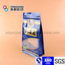 Stehende Snack Food Plastiktüte mit Reißverschluss