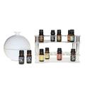 Premium Clear Acrylic Essential Oils Display Organizer