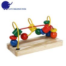 Educational Original Classic Wooden Little Bead Maze